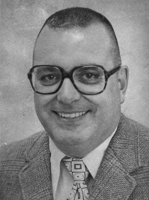 De Pere Abbot Pennings football and basketball coach Don La Violette in 1979.
