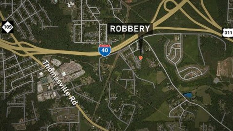 Winston-Salem Police say two men forced their way into