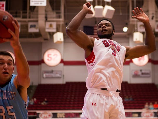 Austin Peay's Chris Porter-Bunton is one of just two players to be able to wear the Hustle Belt this season.