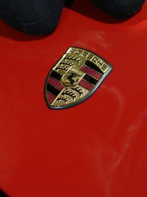 Porsche logo.