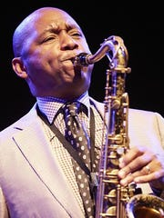 Branford Marsalis, shown at the London Jazz Festival in 2014, will headline the Clifford Brown Jazz Festival this weekend in Wilmington.