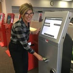 These new kiosks will dispense cash to pay Macomb County jurors their jury pay the day they serve. The kiosks, which are in the jury room at the circuit court, are to be working this month. Jurors will scan in a bar code at the kiosk and be asked other information not on their summons.