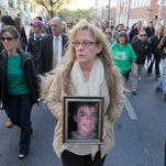 Photos: Victims' Rights March and Vigil