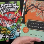 """The Captain Underpants series and """"To Kill a Mockingbird"""" have landed on lists of most challenged books in the United States."""