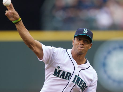 Seattle Seahawks quarterback Russell Wilson was selected by the Texas Rangers in Rule 5 draft in 2013, even knowing he wouldn't change sports. But, he once had a promising minor league player, but clearly made the right choice, playing in his second Super Bowl. A look back at other prominent QBs who chose the NFL career path the past quarter century: