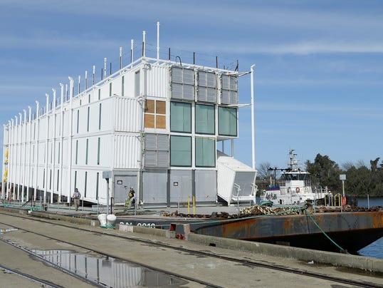 AP Google Barge