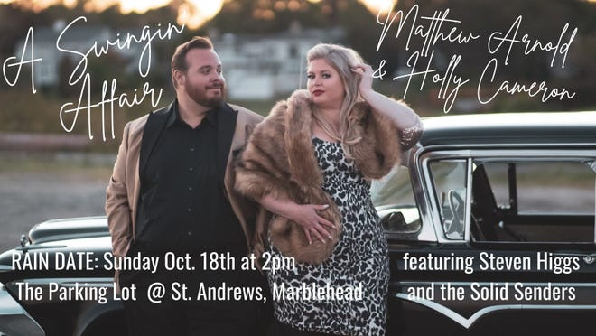 Matthew Arnold and Holly Cameron's socially distanced concert has been moved to Sunday, Oct. 18 at 2 p.m. All other details remain the same.