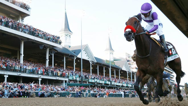 Which competitor could take down Kentucky Derby winner Nyquist at the Preakness Stakes?