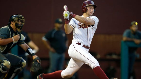 Former Smoky Mountain standout Cal Raleigh and the Florida State baseball team won an NCAA Regional on their home field Sunday.