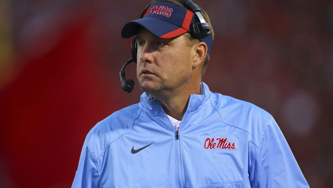 "Ole Miss coach Hugh Freeze said ""thus far"" DeMarquis Gates is on track to play against Arkansas."