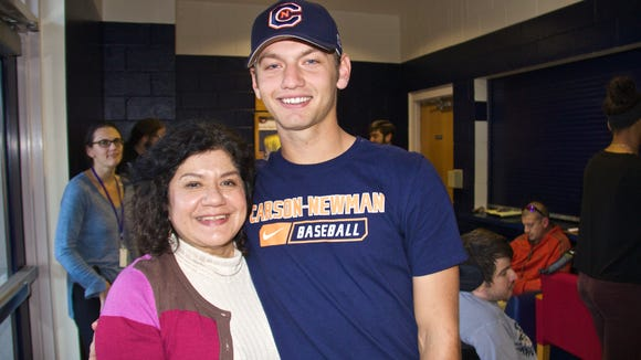Carolina Day senior Michael Connelly has signed to play college baseball for Carson-Newman.