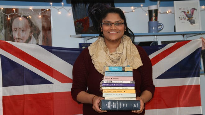 Dharti Patel was named Cedar Grove High School's March Student of the Month.