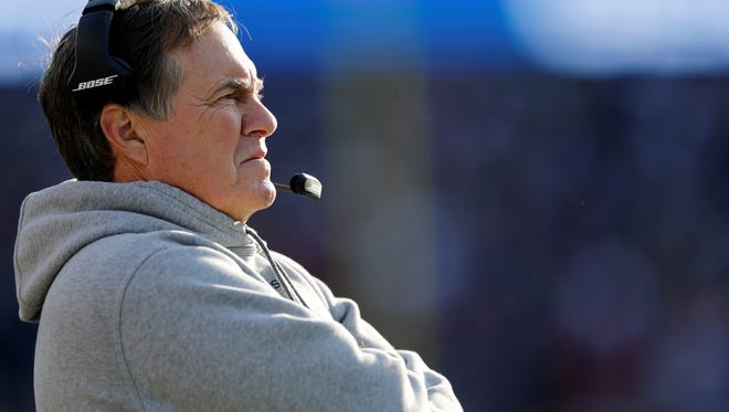 New England Patriots coach Bill Belichick brought his team to San Diego for the week to prepare for the Chargers.
