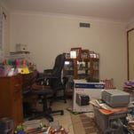 An after shot of a home office space.