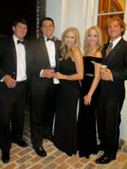 Guests at the Shaughnessy-Nelson wedding reception
