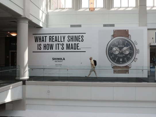 A new store called Shinola will be added to The Westchester