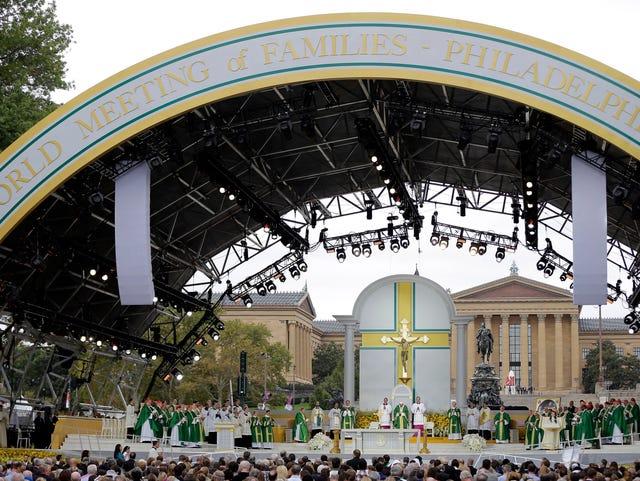 Recap: The pope in Philadelphia, Day 2