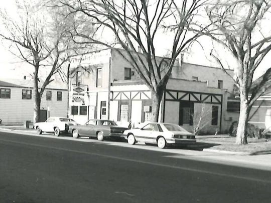 An exterior of Jimmy's Pourhouse in 1981.