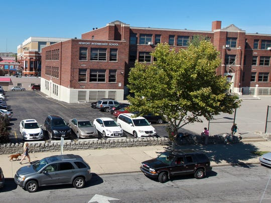 CRG Residential beat out five other developers in 2014 to purchase the Newport Intermediate School building on Fourth Street.