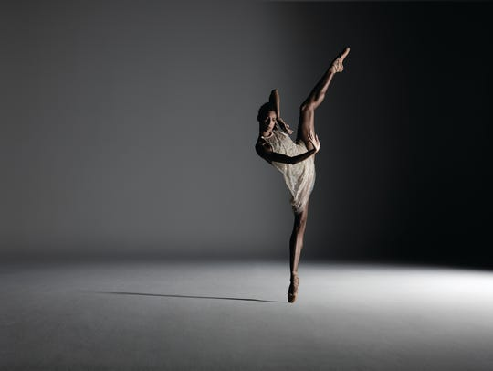 Dancer Adji Cissoko  Alonzo King Lines Ballet, which