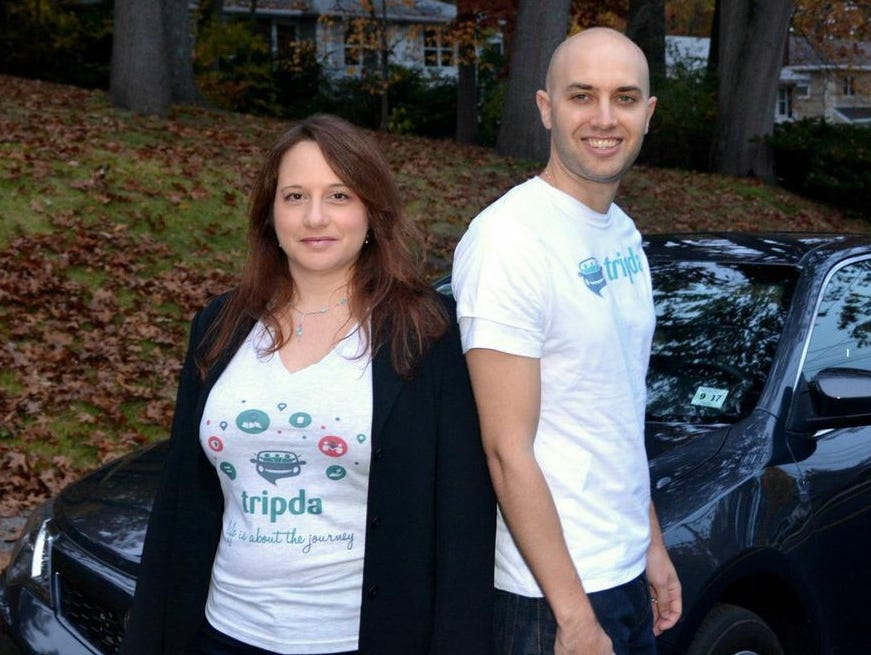 Adi Vaxman (left) and Joe McFarlane are two of four founders of Tripda, a new ride-sharing site focusing on long distance drivers looking for passengers willing to help with trip costs.