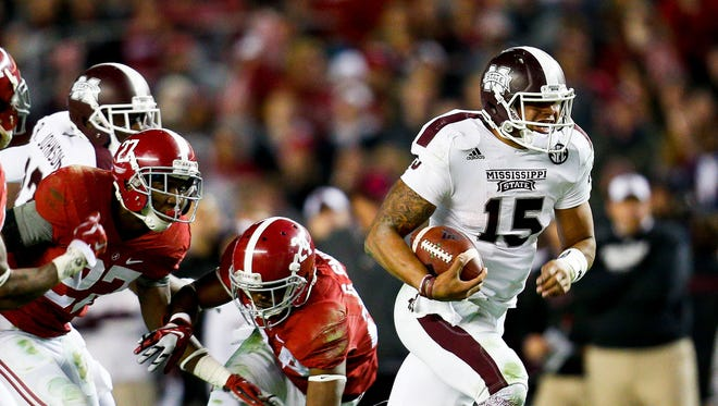 Mississippi State and Alabama will kick at 2:30 p.m. on Saturday on CBS.