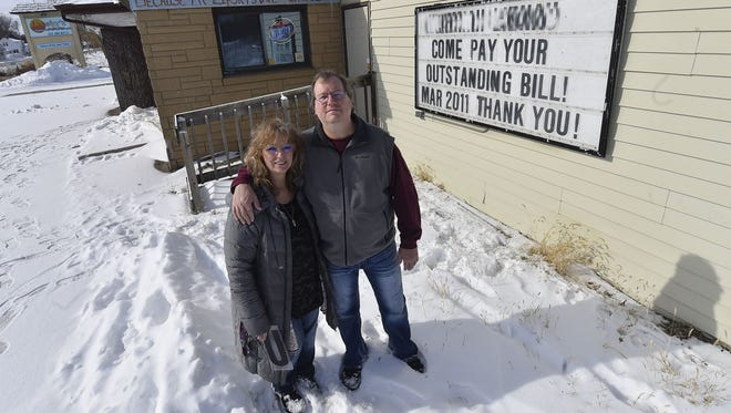 Todd and Andrea Lloyd, owners of Lipsky's On The Bay in Dyckesville, have a message for patrons who owe them money.