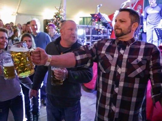 Brandon Guenterberg at the German Christmas Market
