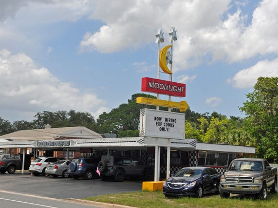 Titusville's Moon Light Drive In, a family restaurant on U.S. 1, is a Space Coast institution.