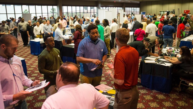 The Industrial Trades Career Fair provided the chance for attendees to meet with companies that are hiring in Louisiana.