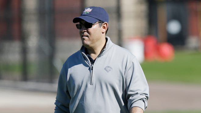 Philadelphia Phillies general manager Ruben Amaro Jr. hasn't spoken about the allegations against two draftees.