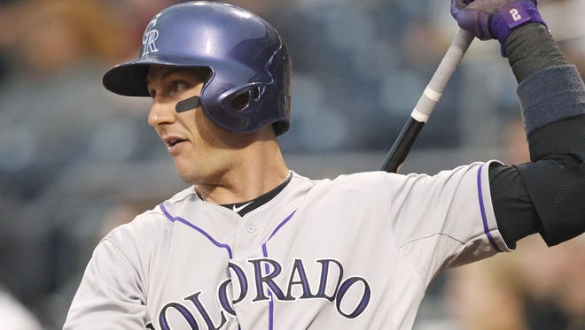 Rockies shortstop Troy Tulowitzki has been one of the top fantasy players so far in 2014, but a hip flexor strain puts his value in doubt going forward.