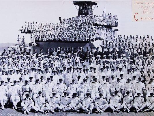 USS Arizona Exhibit