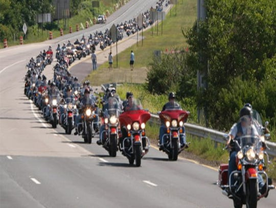 Hundreds of bikers will participate in the Showdown