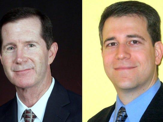 Bill Carvajal (left) is co-owner of Mt. Franklin Insurance
