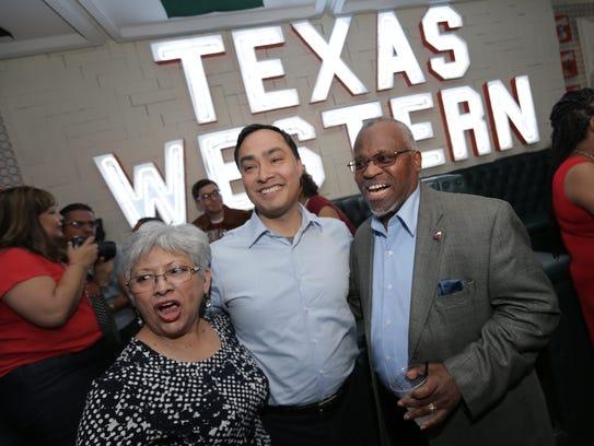 U.S. Rep. Joaquin Castro talked with El Paso Democrats