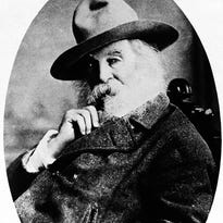 American writer Walt Whitman shown in an undated photo.