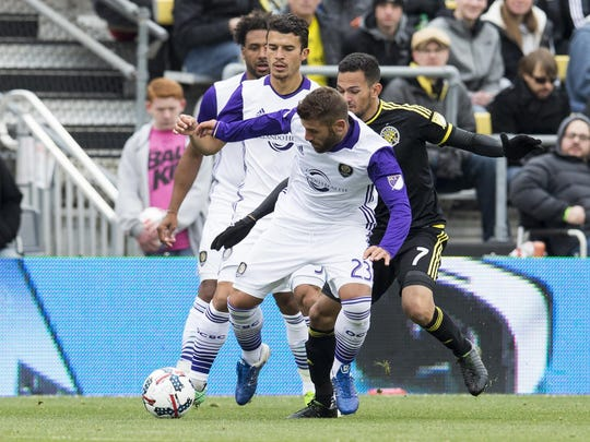 MLS: Orlando City SC at Columbus Crew SC