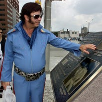 Why the Elvis Presley plaque is absent in Indy on final concert's 40th anniversary