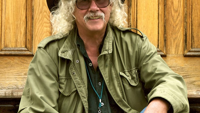 Arlo Guthrie will tour the area with stops in New York City, Newark, Wilmington and Princeton in celebration of the 50th anniversary of 'Alice's Restaurant.'