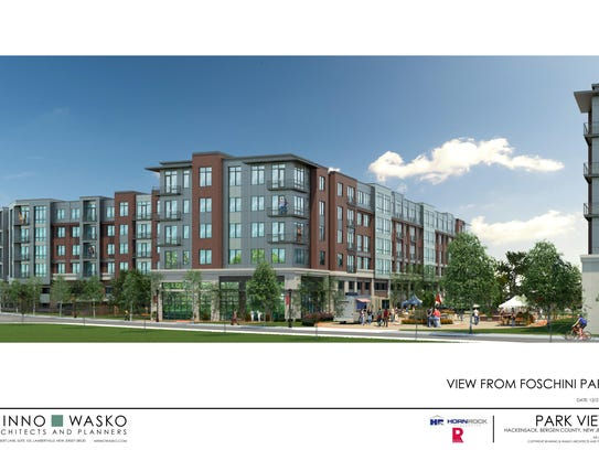 The proposed Hackensack redevelopment project that