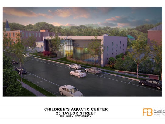 This artist's rendering show original plans for a children's