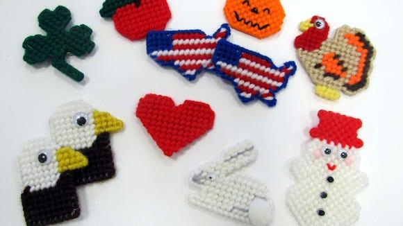 Some of Gramma's pins (K. Stevens)