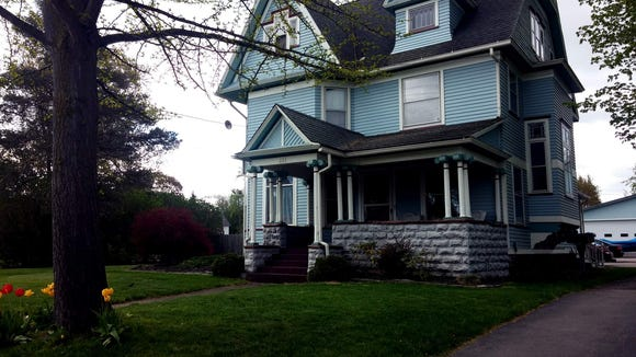 The F.M. Jones House at 135 E. Main Street is one of Webster's Historic Properties. (M. Rosenberry)