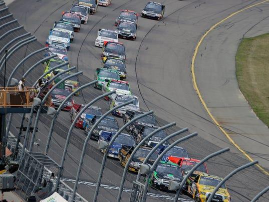 NASCAR Truck Series Iowa Speedway 062314
