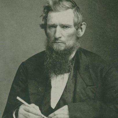 Ezra Cornell, pictured in 1868.