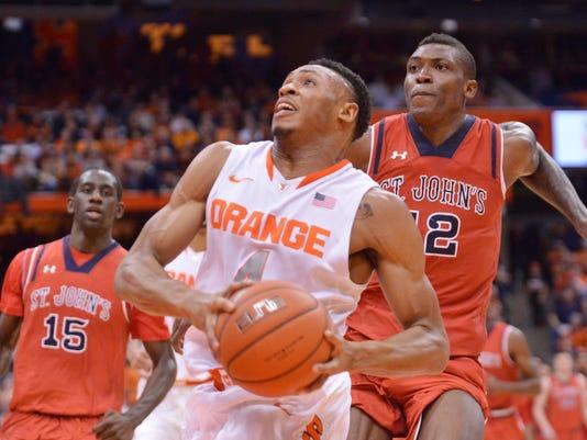 NCAA Basketball: St. John's at Syracuse