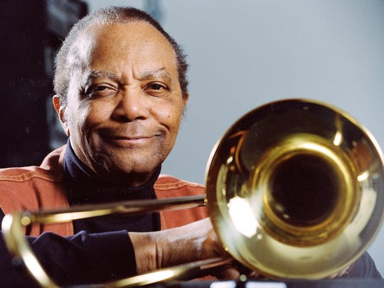J.J. Johnson made the trombone a high-profile instrument in bebop jazz, giving it stature in context with Dizzy Gillespie's trumpet and Charlie Parker's saxophone.