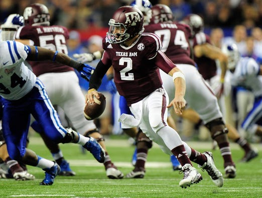 Texas A&M QB Johnny Manziel