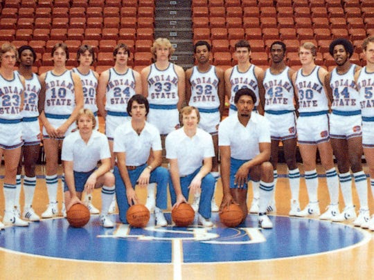 1978-79 Indiana State basketball team.  Larry Bird